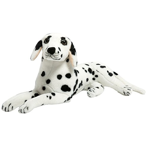 (BEJOY Realistic Dalmatian Stuffed Animal Dog Soft Plush Puppy Toy for Kids 17 inches)