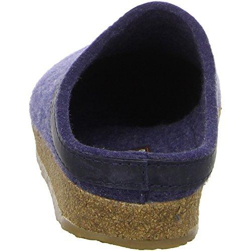 Haflinger 713001 Slippers, Filztoffel Grizzly Torben, Jeans, Gr 50 by Haflinger (Image #10)