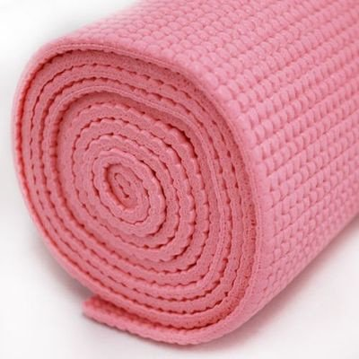 Sivan Health and Fitness Yoga and Pilates Mat (Pink)
