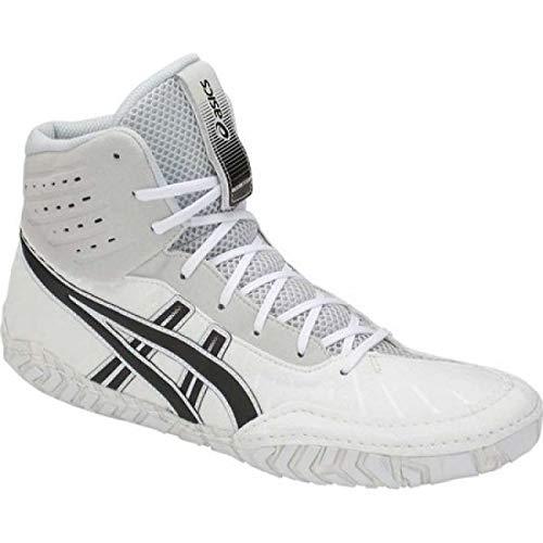 地味な重さバックアップ(アシックス) ASICS メンズ レスリング シューズ?靴 Aggressor 4 Wrestling Shoe [並行輸入品]