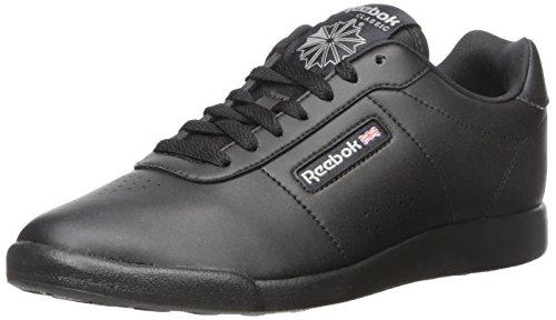 Reebok Women's Princess Lite Classic Shoe, Black, 10 W US