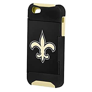 Forever Collectibles NFL Hideaway Credit Card iPhone 5 Hard Case - Retail Packaging - New Orleans Saints