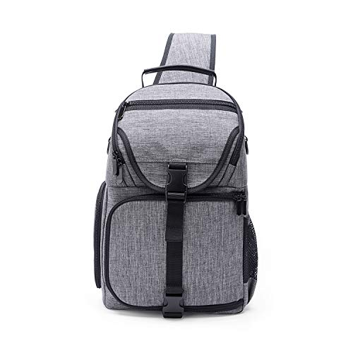 SZSY Camera Sling Bag& Water Repellent Shockproof Photography Camera Backpack with Modular Inserts (Camera & Lens & Photography Accessories)