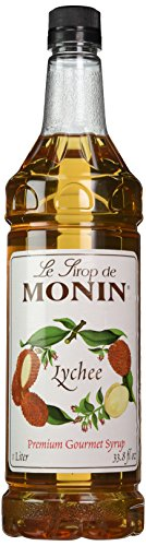 Monin Lychee FS 1 L - Single Bottle (Lychee Syrup)