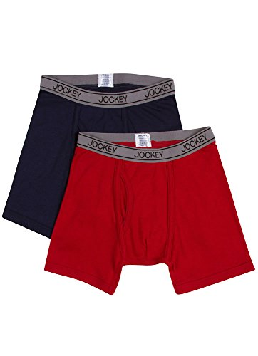 Jockey Boy's Underwear Boys Cotton Performance Boxer Brief -