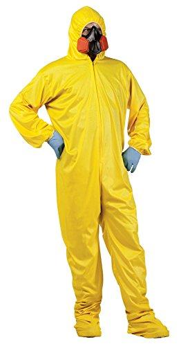 (Adult size Breaking Bad Costume - HAZMAT Suit)