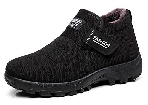 Fashion With Men Shoes Boots Warm NEW Footwear Winter Shoes Snow Male Velvet Blue Winter Boots Rubber Men dP0q0t