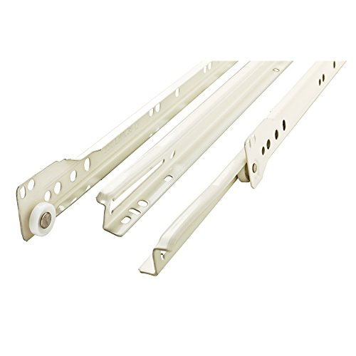 - Liberty  D68814C-W-TX 14-Inch Bottom Mount Drawer Slide