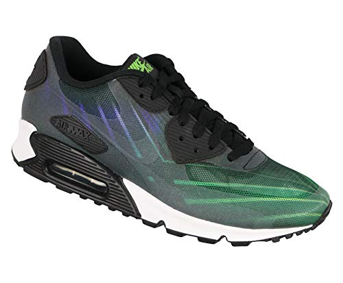 Nike Men's Air Max 90 + Hurley Phantom 4D Running Shoes 9.5 M US Black (Nike Air Max 90 Hyperfuse Black And White)