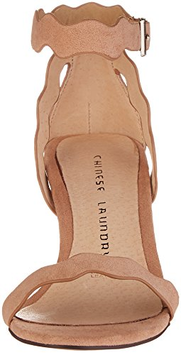 Sandalo In Vacchetta Nera Da Donna Con Bucato Color Panna