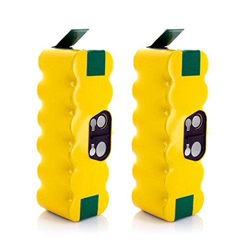 Morpilot 2 Pack Battery 3800mAh for iRobot Roomba 500 510...