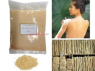 10 Bag X 100g Pure Thanaka Tanaka Natural Powder Anti Acne Aging Whitening Hair Removal. by Thanaka (Image #1)