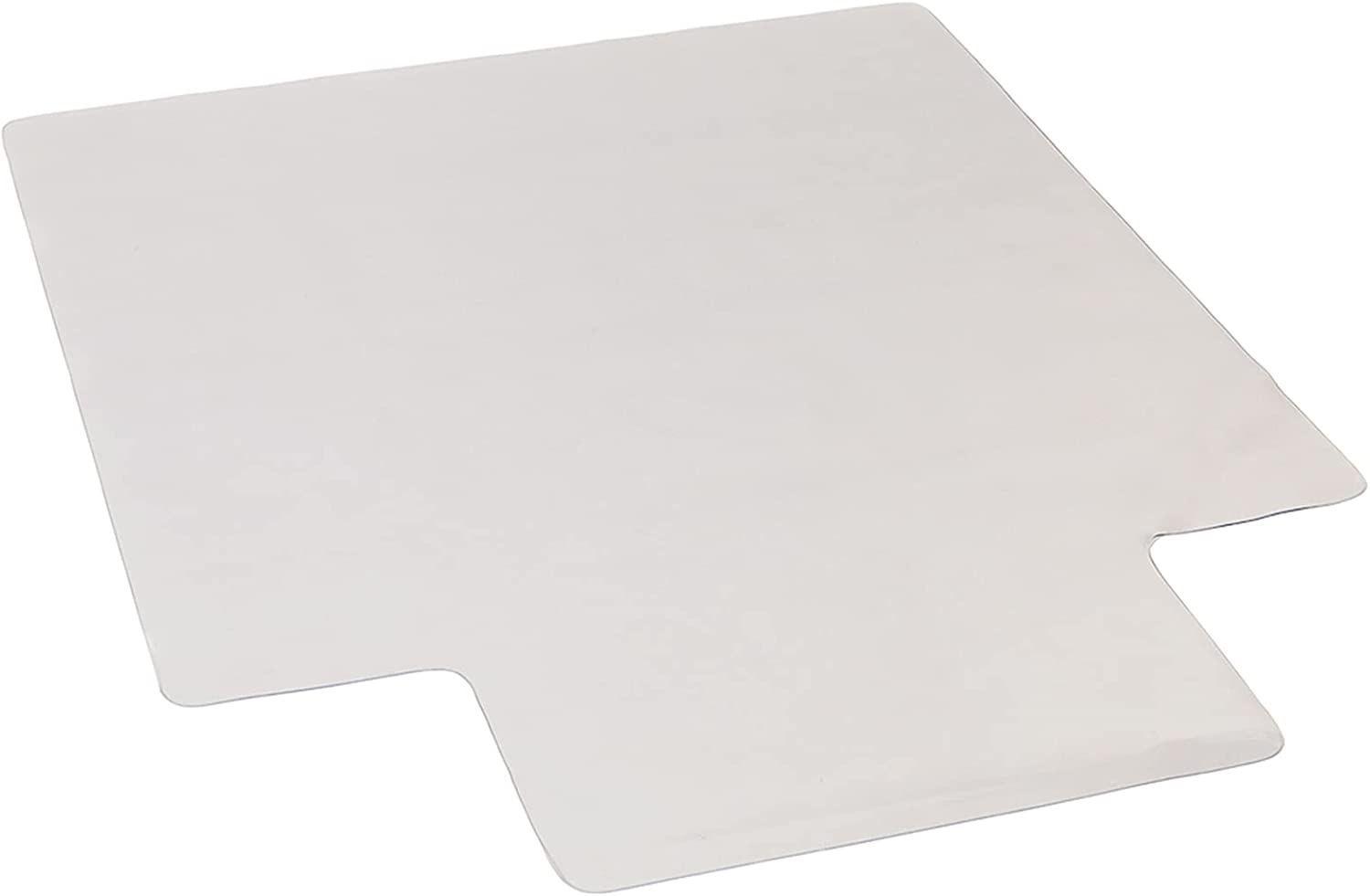 Clear Anti-Slip PVC Floor Mat,Floor Protection Desk Chair Mat with Lip,Carpet with Lip Studs Strong Impact Resistance Easy to Clean, Home Furniture Table Corner Protection Pad Hard Floors