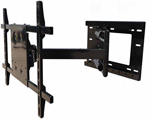 articulating arm long extension tv wall mount bracket. Black Bedroom Furniture Sets. Home Design Ideas