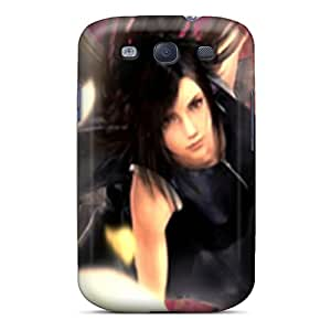 AntonioKennedy Scratch-free Phone Case For Galaxy S3- Retail Packaging - Tifa Wallpaper