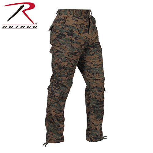 8675 ULTRA FORCETM BDU PANT - WOODLAND DIGITAL L-LONG