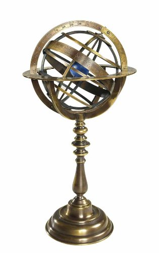 Armillary Dial in Brass by Authentic Models