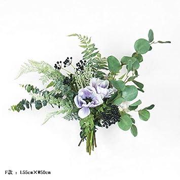 Amazon Com Nordic Simulation Flower Plant Leaves Single