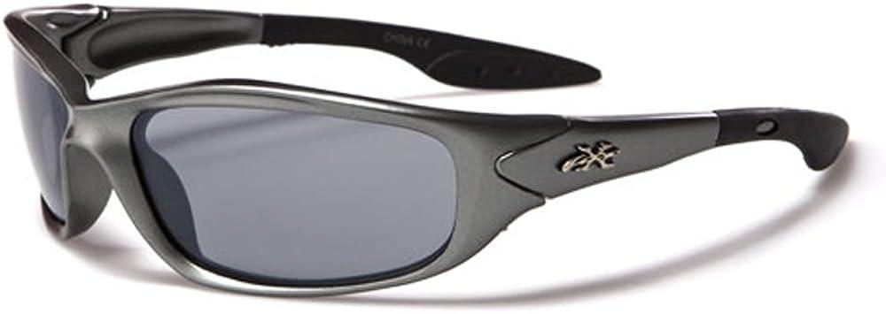 X-Loop ® Gafas de sol de esquí para niños–Full protección UV400(Uva & UVB)–Esquí/Sport/Verano Fashion (Modelo Alpine KD)