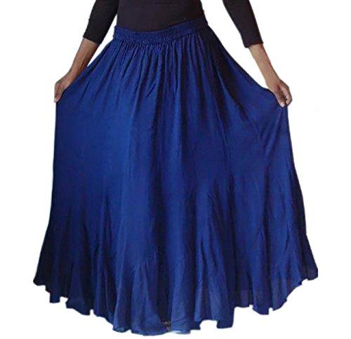 Lotustraders - Falda - para mujer azul marino