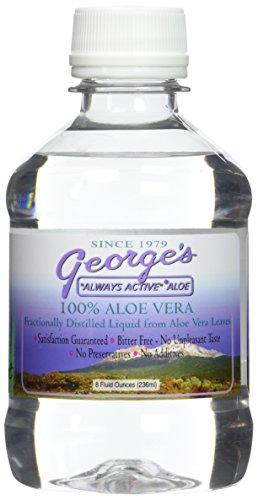GEORGE'S ALOE VERA ALOE LIQUID, 8 FZ