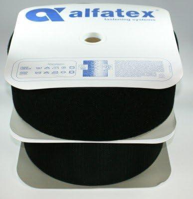 50mm////Haken-und//oder Flauschband-Aufnähband KLETTBAND 1m