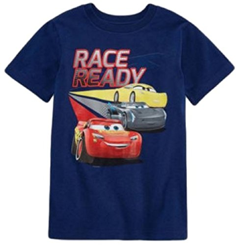Cars 3 Movie T-Shirt for Boys Short Sleeve Graphic Tee