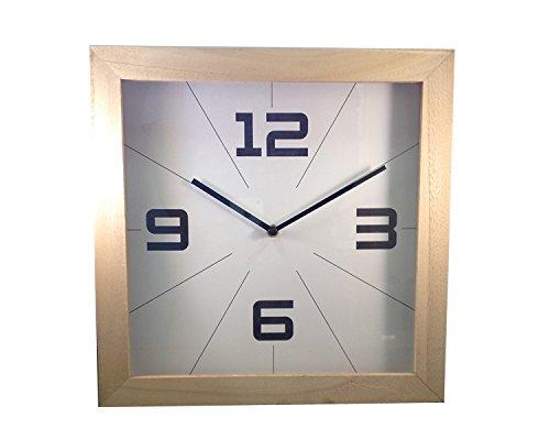 Uhr Wohnzimmer Wanduhr Küchenuhr Natur Ø 30 cm