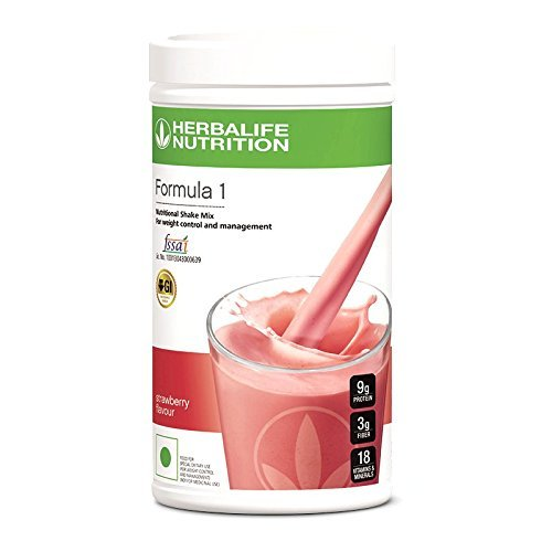 Formula 1 Nutritional Shake Mix Strawberry Flavor Healthy Meal 500 Gm Herbalife Dhl Shipping 3 4 Days Delivery