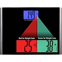 Ozeri Precision Pro II Digital Bathroom Scale, 440 lbs Tempered Glass Platform with Step-on Activation