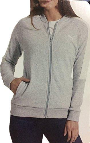 Puma Ladies Track Jacket (Lt Grey Heather, Medium)