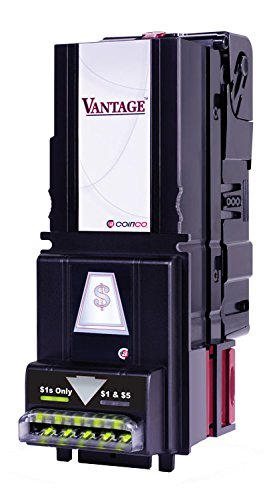 Coinco Vantage $1/$5/$10/$20 Bill Validator (Soda style) by Coinco