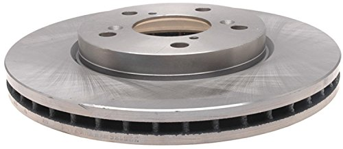 ACDelco 18A1761A Advantage Non-Coated Front Disc Brake Rotor - Honda Odyssey Rotors