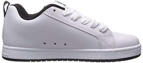 Court D0300529 pour Paire Wg2 de sport en Shoe DC White Shoes homme chaussures de Graffik nubuck E5vxfq