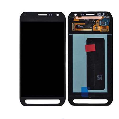 LCD display Digitizer touch screen Assembly For Samsung Galaxy S6 Active G890 (Black)