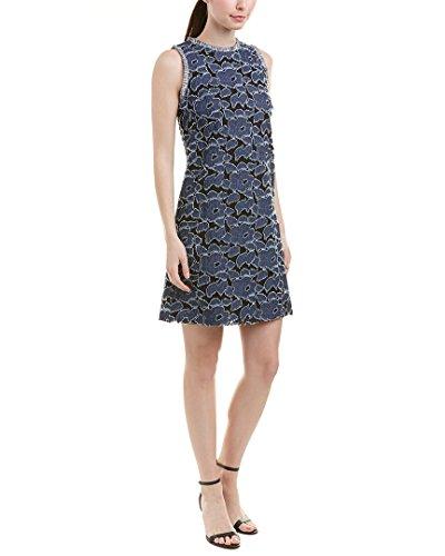 Julia Jordan Womens Shift Dress, 4, Blue by Julia Jordan