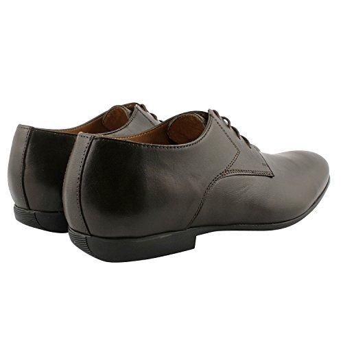 Exclusif ParisExclusif Paris Tyler, Chaussures homme Chaussures de ville - Zapatos de Cordones Hombre Marrón - marrón