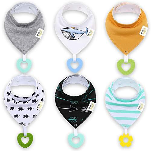 Personalized Gift-Rain Forest Bib-Leopard Dribble Bib-Organic Cotton Bib Set-Organic Teething Ring-Organic Sensory Toy-Baby Shower Gift