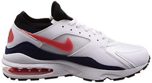 Red 102 habanero Nike Gymnastique Chaussures Red De white neutral Indigo black Blanc 93 Air Max White Habanero Homme wTTpx4zfKq