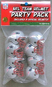 Riddell NFL Team Helmet Party Pack - New England Patriots by Riddell