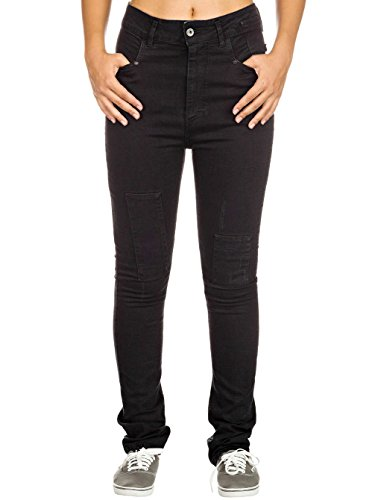 With Nikita Tar Used Jeans Patch Donna 88IqAwZ