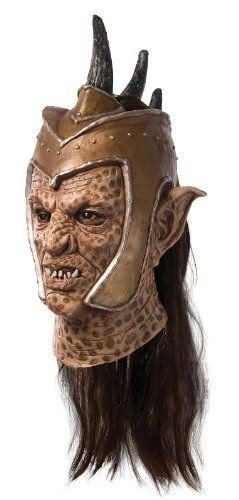 Deluxe Latex Orc Mask (Deluxe Orc Mask Costume Accessory)