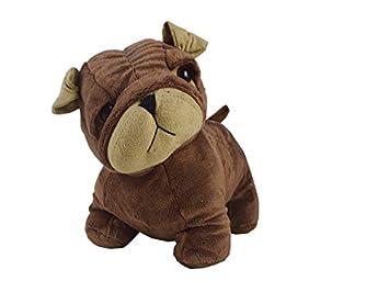 Catay Home Sujeta Puertas o Tope de Puerta Perro Mascota Bulldog marrón 20x23 cm: Amazon.es: Hogar