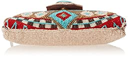 Mary Frances Turquoise Power Mini Clutch, Multi, One Size