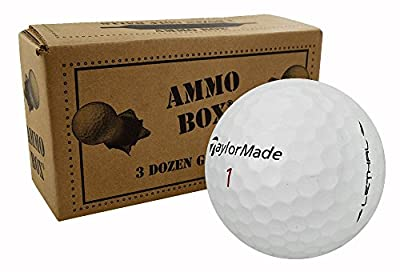 TaylorMade Lethal Mint Used Golf Balls3-Dozen