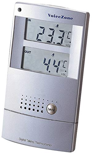 (Talking Indoor/Outdoor Thermometer)