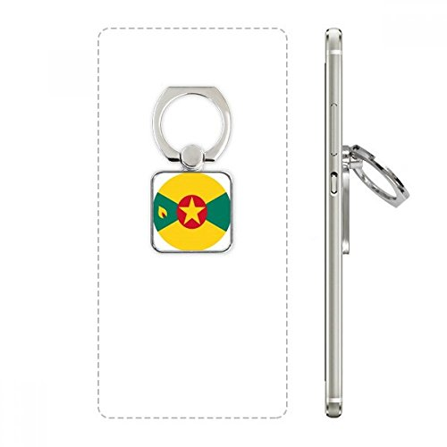 Grenada North Ameica National Emblem Square Cell Phone Ring Stand Holder Bracket Universal Support Gift