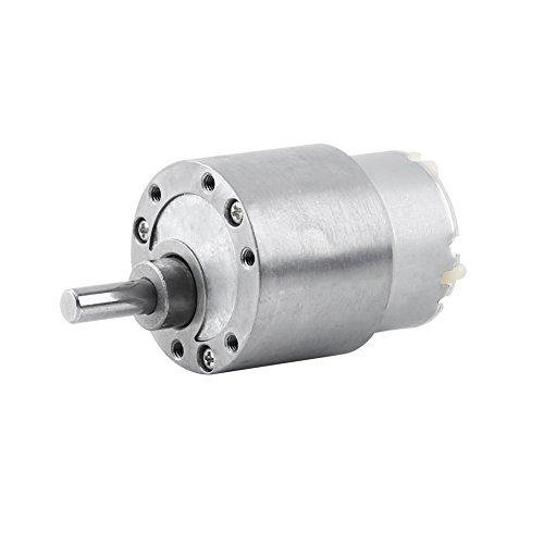 Akozon DC 12V High Torque Gear Box, Electric Motor 3.5/15/30/70RPM Reduction Motor(3.5RPM) by Akozon (Image #2)
