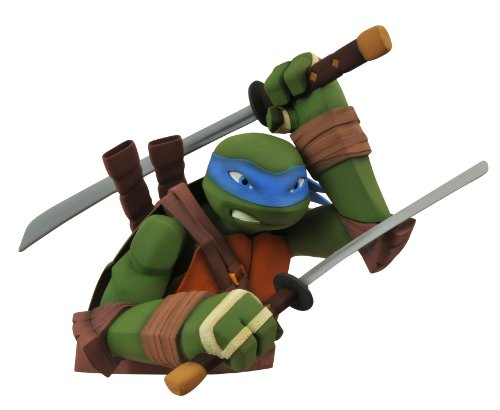 Diamond Select Toys Teenage Mutant Ninja Turtles  Leonardo Bust Bank