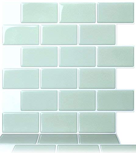 Tic Tac Tiles - Premium Anti Mold Peel and Stick Wall Tile in Subway Design (12